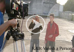 Keelan and Rich Vanish a Person!