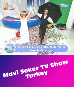 Quick Change Artists perform on Turkish Television! Istanbul - Turkey - August 2009